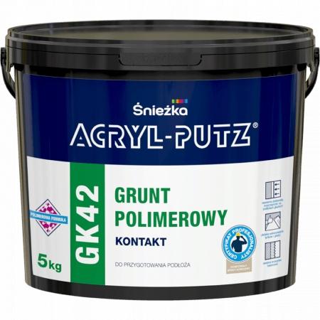 Acryl Putz GK 42 Grunt Kontakt Polimerowy 5 kg