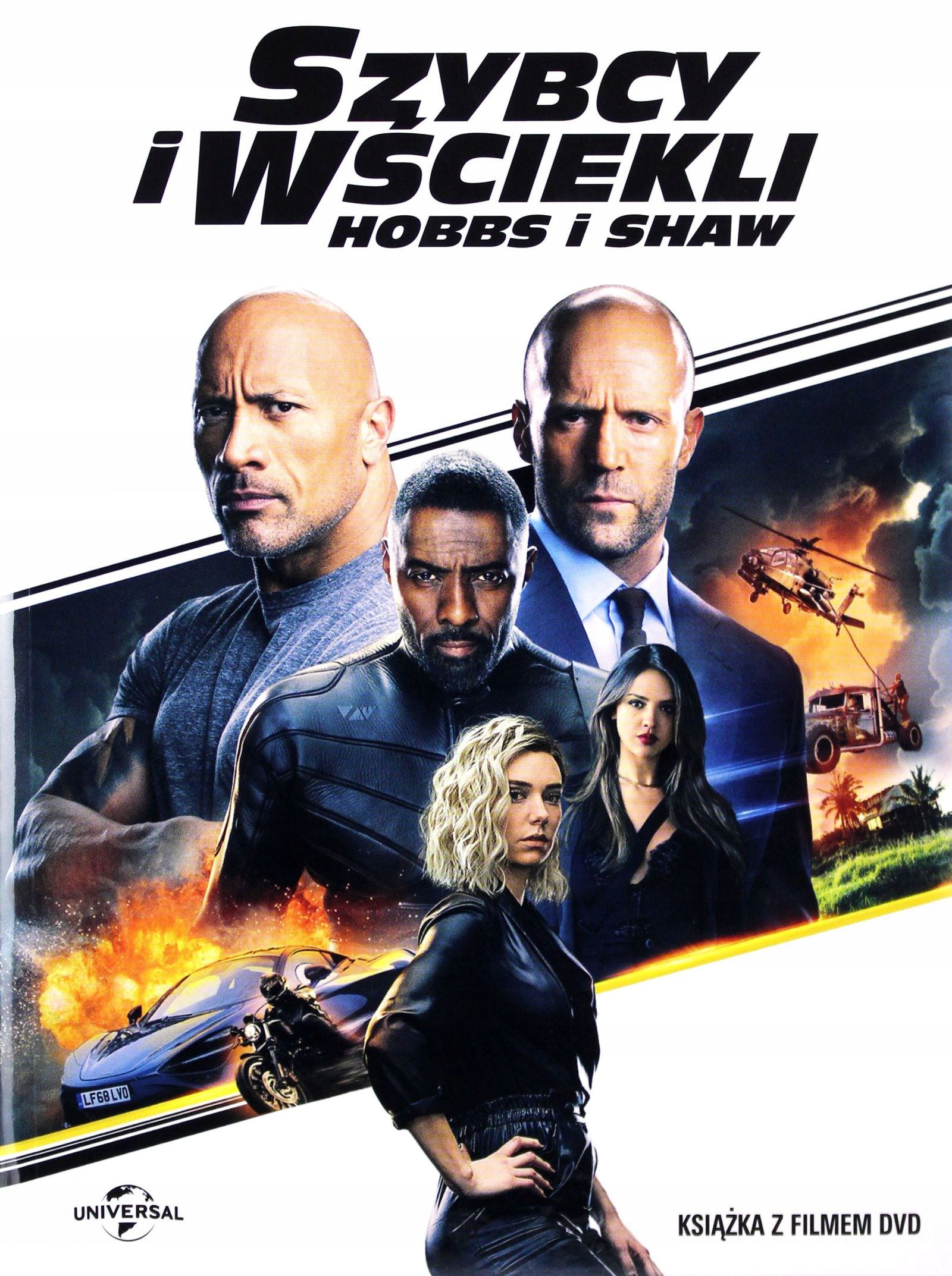 Item THE FAST AND THE FURIOUS: HOBBS AND SHAW (BOOKLET) (DVD)