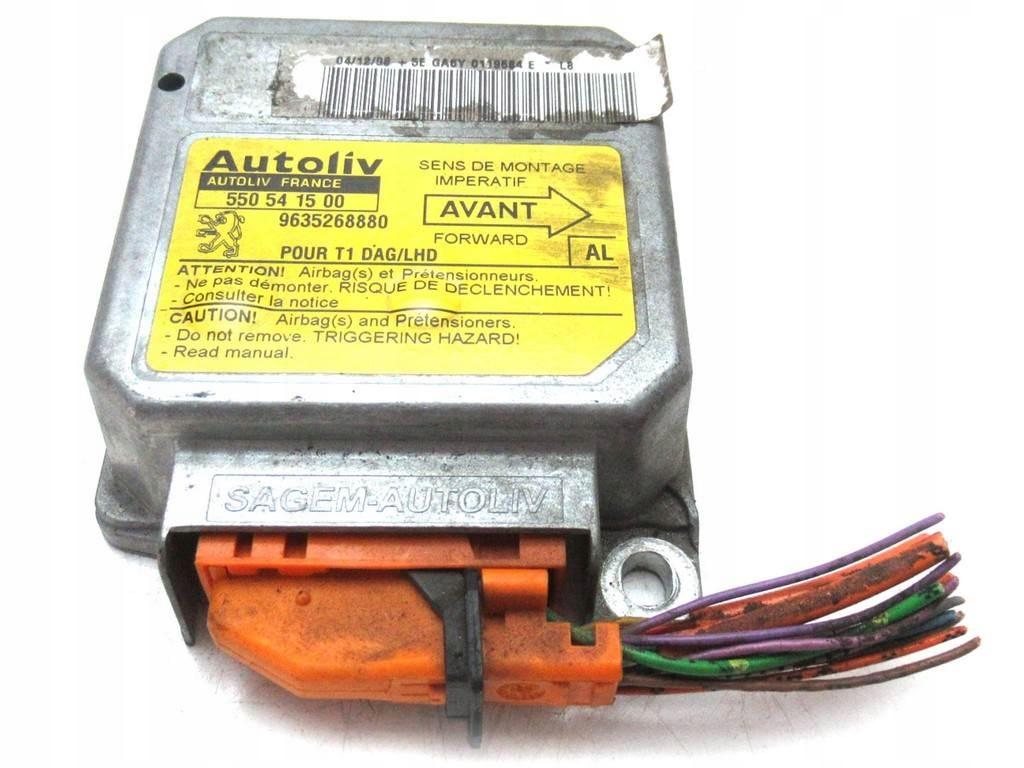 сенсор подушек airbag peugeot 206 9635268880