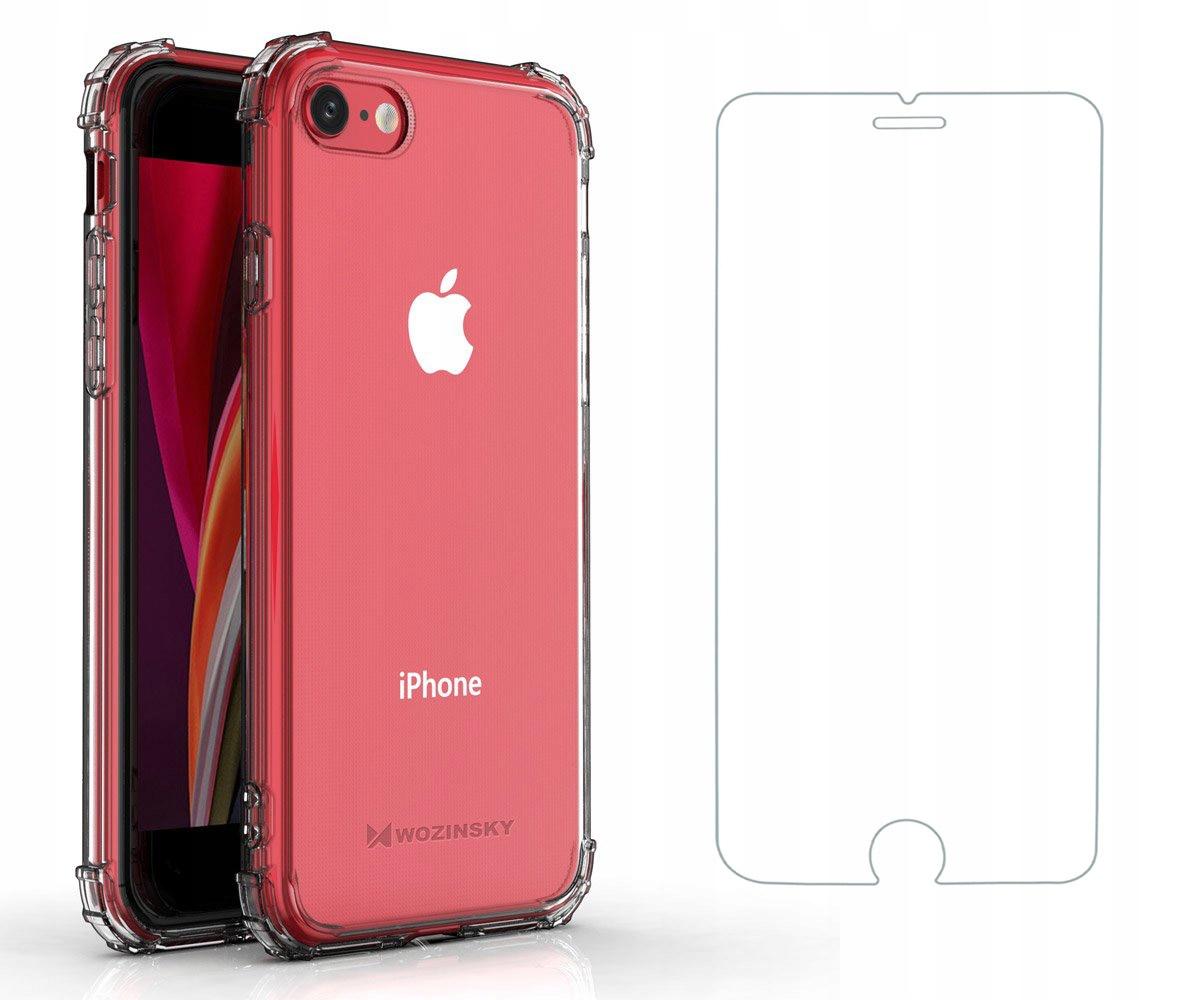Etui A-Shock + Szkło do iPhone 7 / 8 / SE 2020