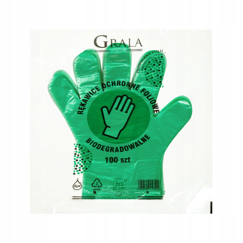 Перчатки полиэтиленовые одноразовые ПОЛИЭТИЛЕНОВЫЕ Эко / Био 100шт