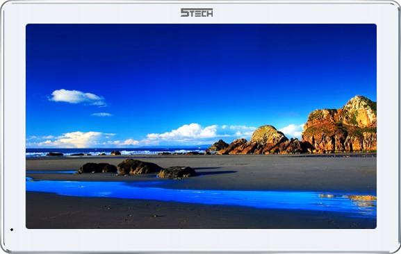Wideodomofon Videodomofon 10' WiFi 5TECH FHD Kolor biały