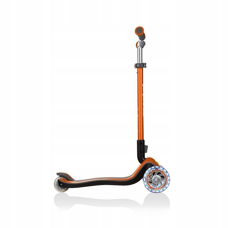 Hulajnoga 3-kołowa Globber Elite Prime Pomarańcz Kolor Pomarańczowy