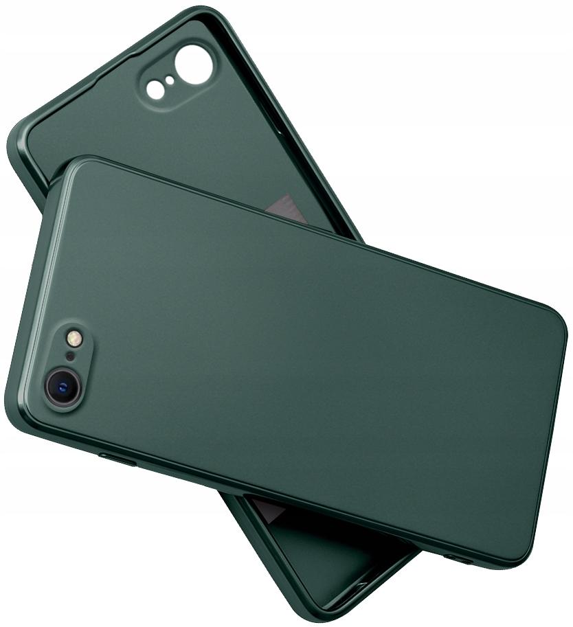 Etui SILIKON do iPhone 7 8 SE 2020 CASE + SZKŁO 9H