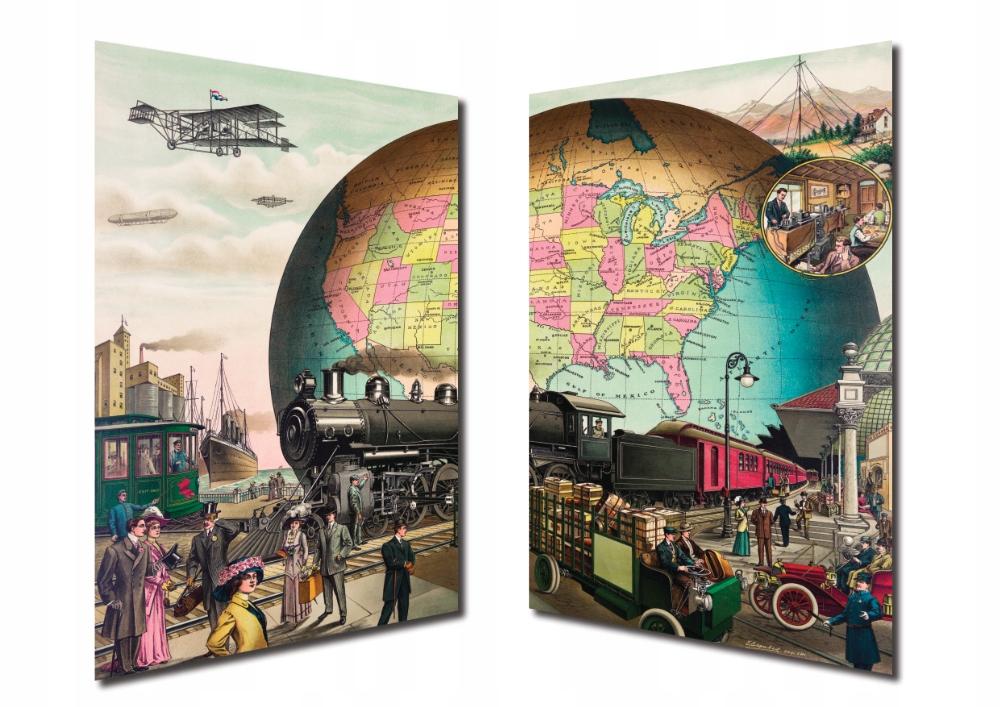 Plagát Retro Dopravy 1910 + A3 antyramy