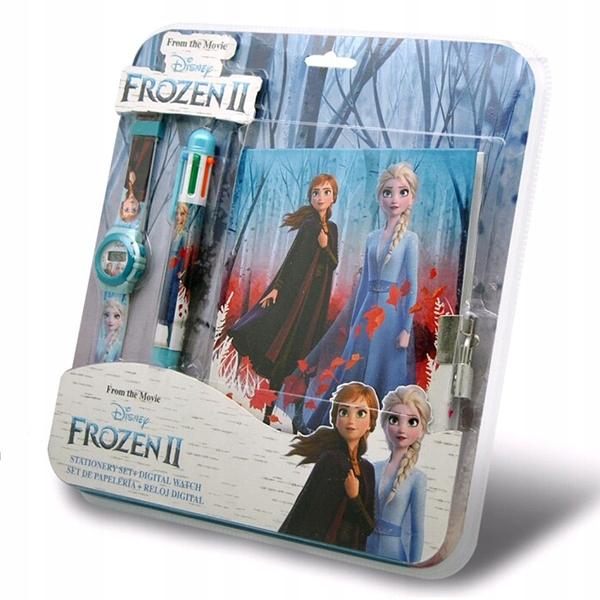 Hodinky Frozen II Frozen 2 + denník