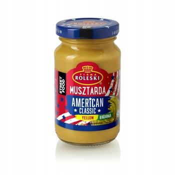 Ролески американская классическая желтая мягкая горчица