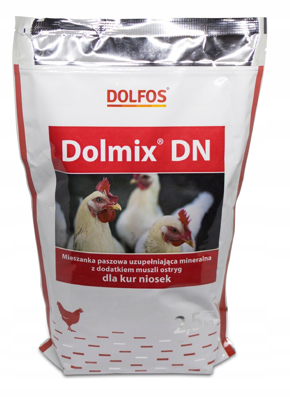 DOLMIX DN ДОЛЬФОС для кур несушек, витамины 2,5 кг