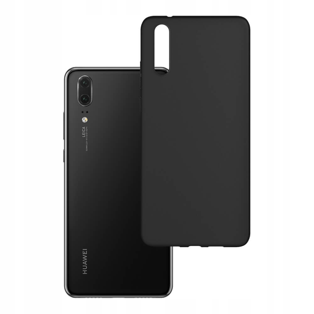 Do Huawei P20 - Odporne Etui 1,2mm 3mk Matt Case