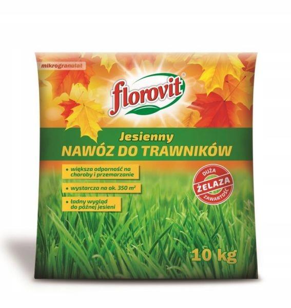 Nawóz do trawników jesienny Florovit 10 kg worek