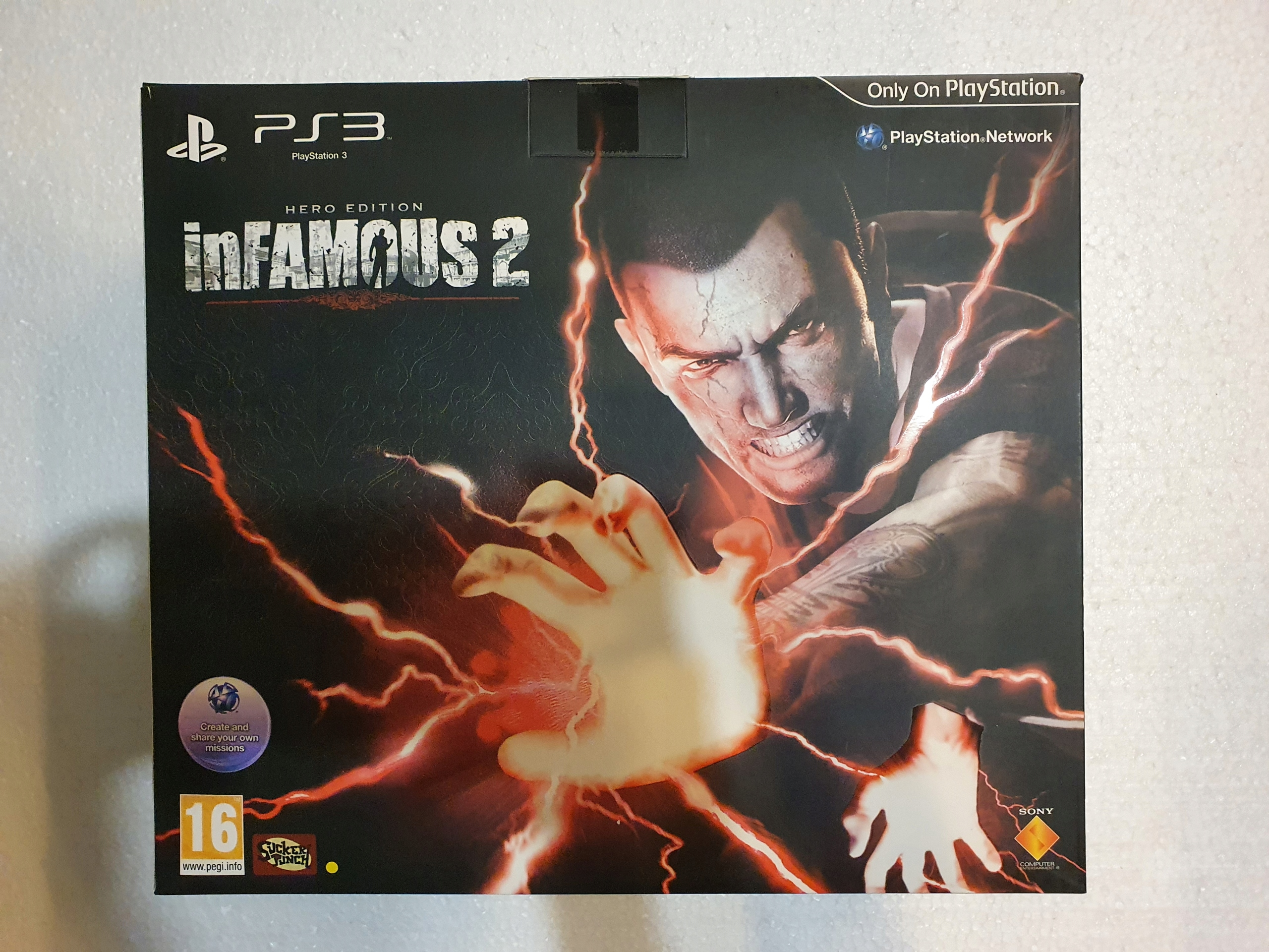 Infamous 2 Hero Edition Ps3 Unikat Pl Stan Nowy 9804042492 Allegro Pl