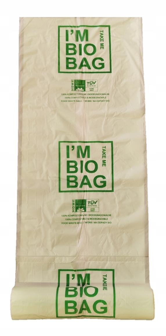 BIODEGRADABLE COMPOSTABLE BAGS 10L BIO 25pcs