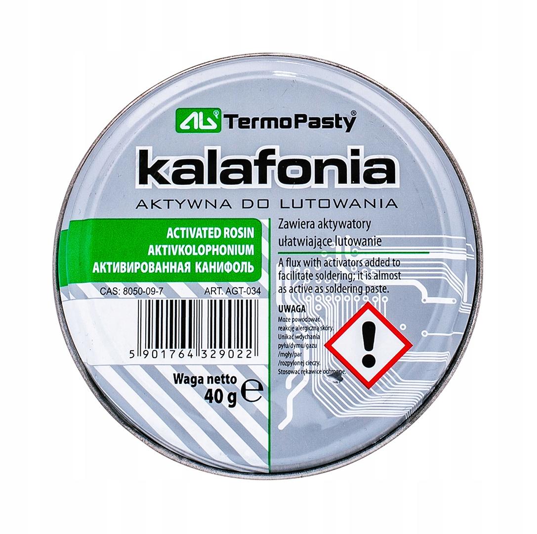 AKTYWNA KALAFONIA DO LUTOWANIA AG TERMOPASTY 40g