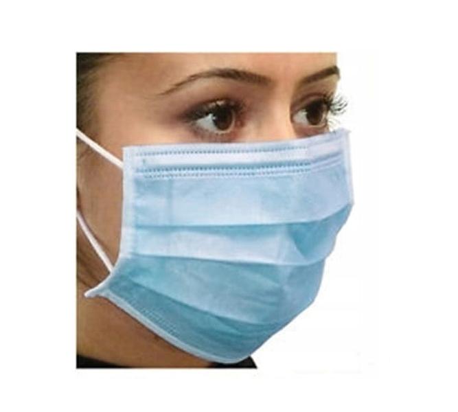 3 vrstvená chirurgická ochranná maska - 10ks