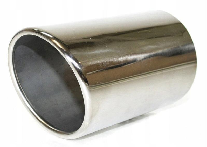 наконечник выдохе глушителя 1 шт хром audi a6 c6
