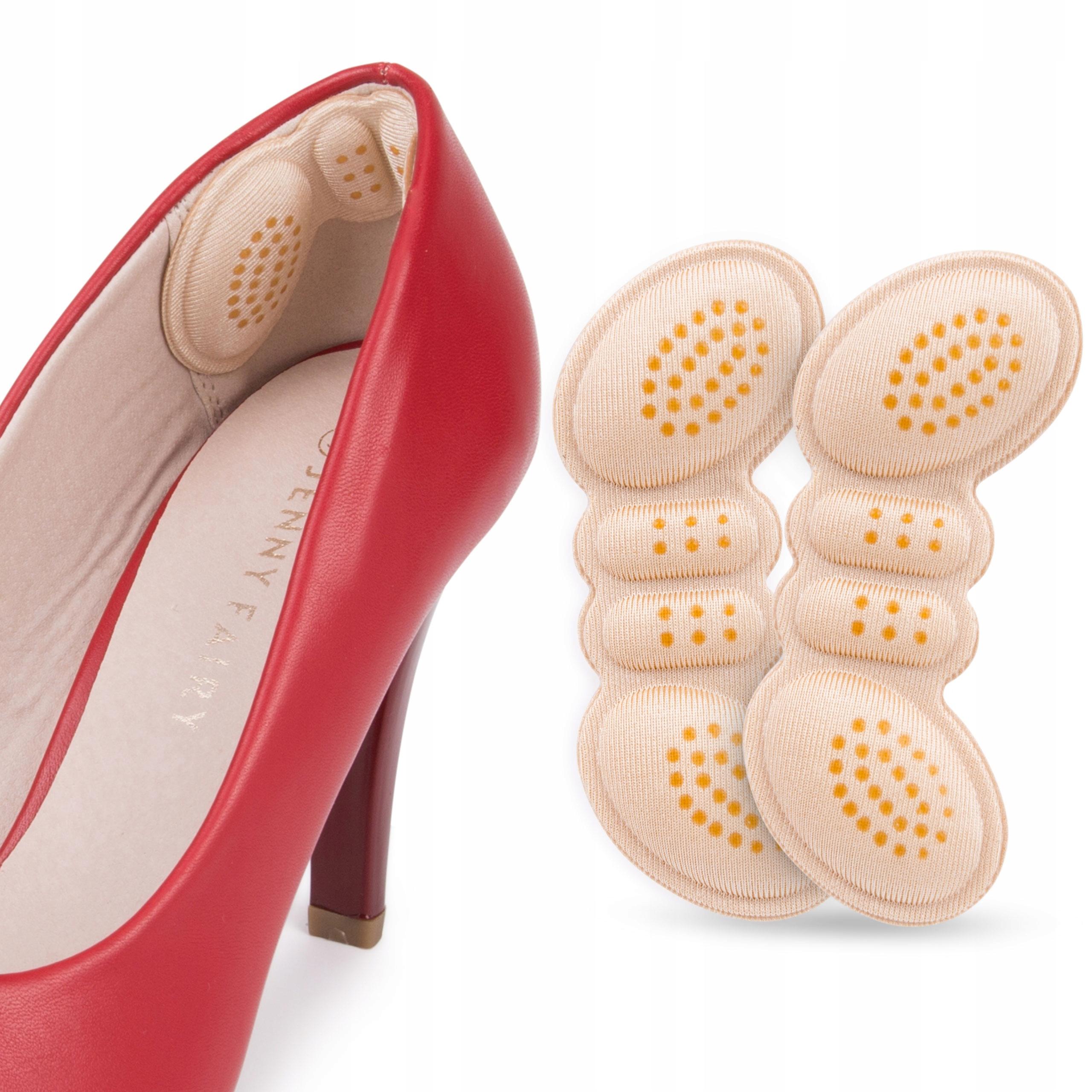 Piankowe zapiętki butów obtarcia pięty wklejane