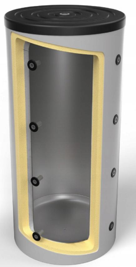 OEM Black 1000 0w буферный накопитель с изоляцией