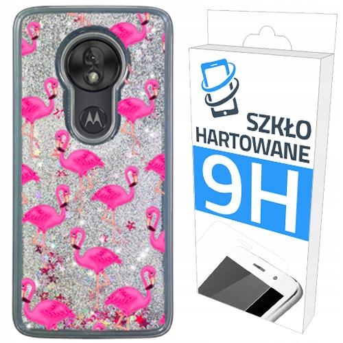 Etui Brokat+szkło Ochrona Do Motorola Moto G7 Play