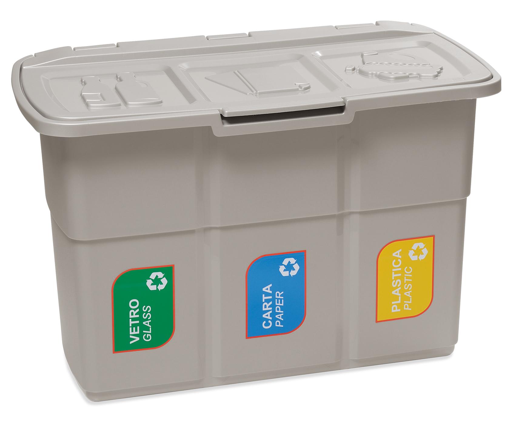 Контейнер для отходов BASKET для сегрегации 3x25L