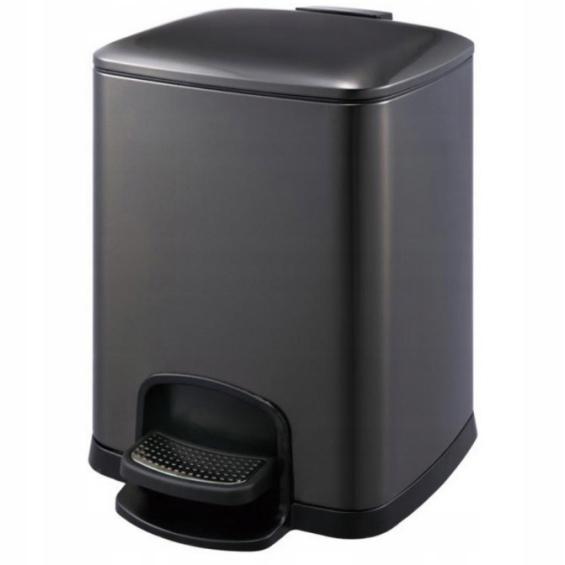 Kôš na pedále 5 L Stella matná čierna 20.20305-MB