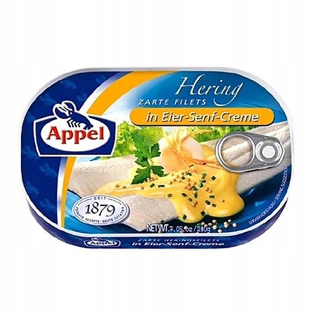 Аппель Филе сельди в горчичном креме 200г