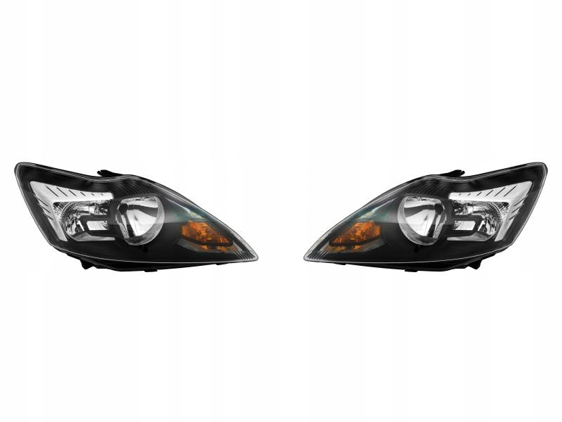 фары лампы ford focus mk2 ii 08-12 tyc l+p