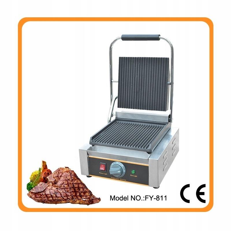 Grill elektryczny profesjonalny gastronomiczny