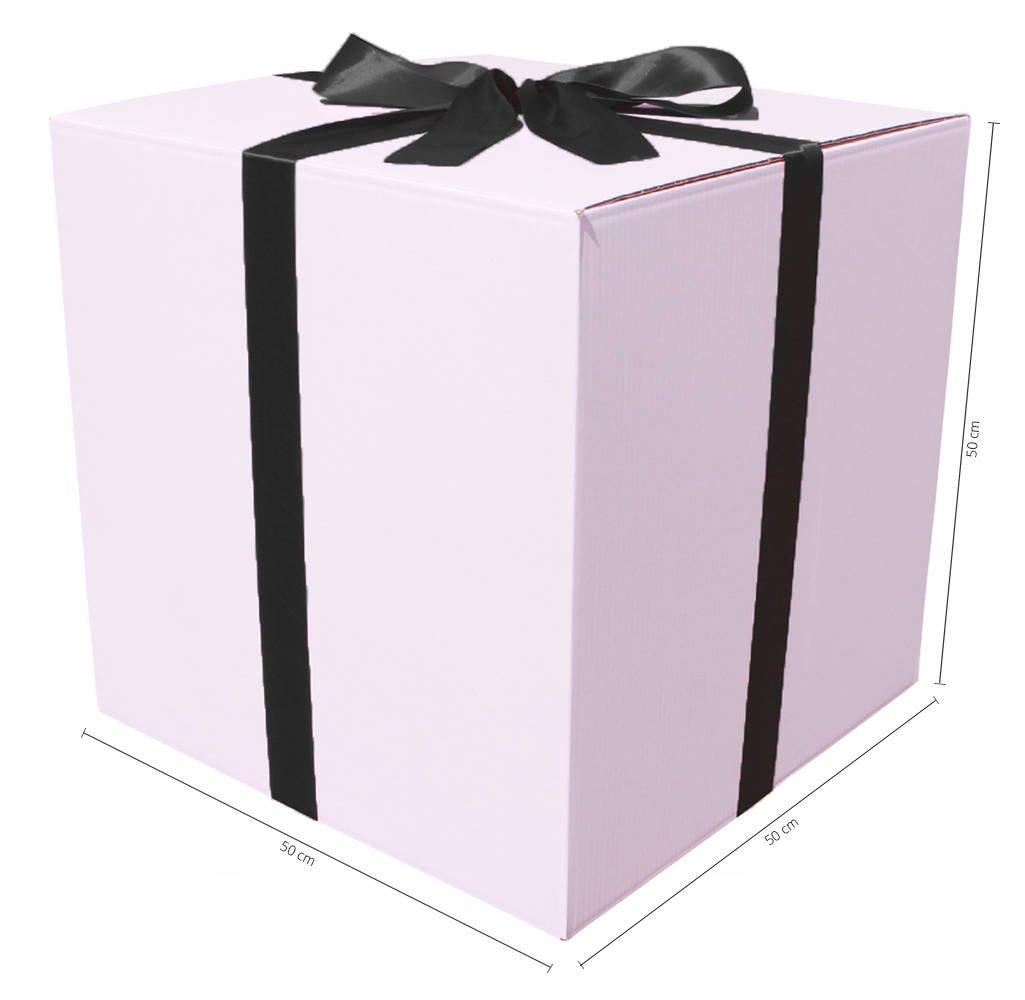 ДЕКОРАТИВНАЯ БОЛЬШАЯ КОРОБКА с лентой - отличный вариант для подарка