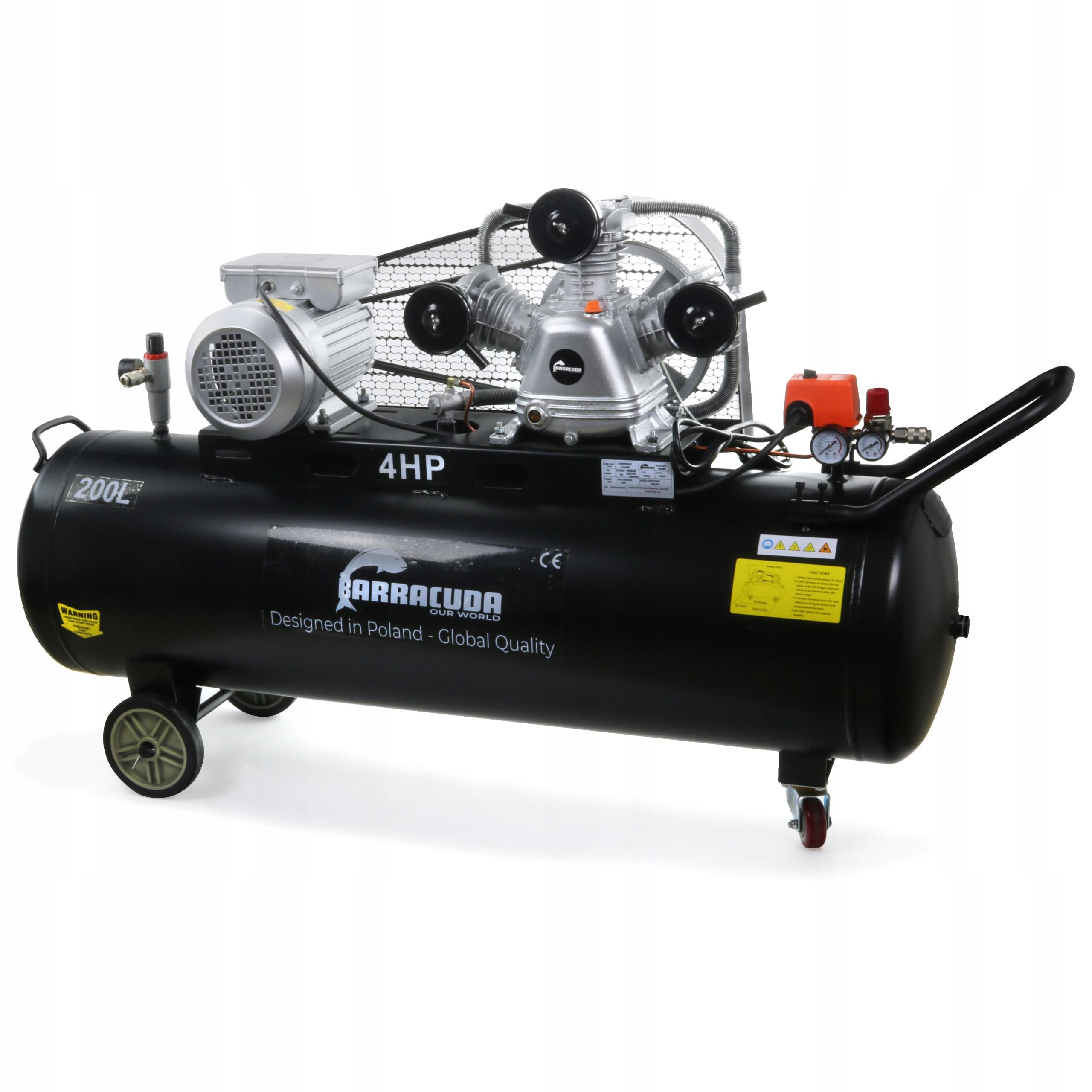 Kompresor powietrza 3065 butla 200L 600 l/min 230V