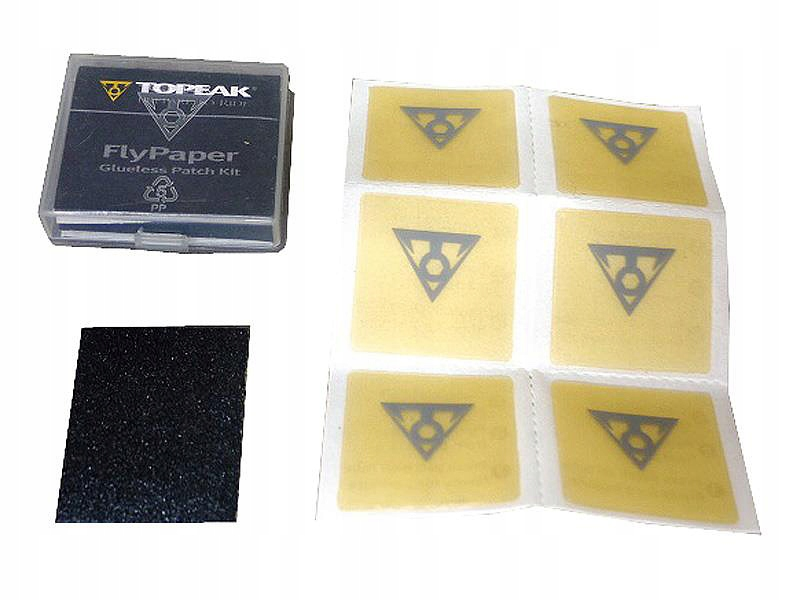 Клейкие пластыри Topeak Flypaper Glueless Patch