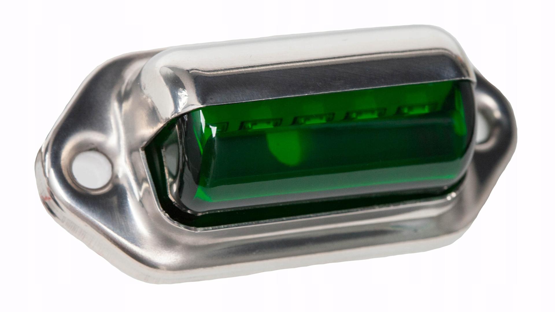 Светодиодное освещение зеленой лестницы