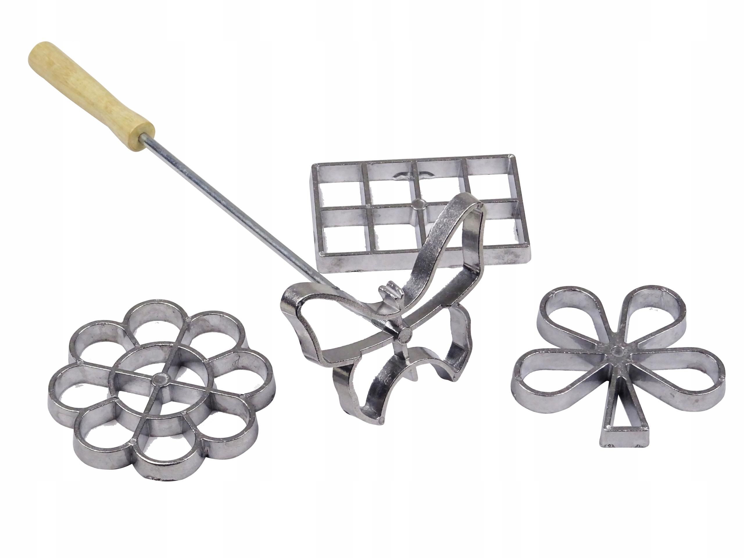Rozetki foremki forma do pieczenia rozetek ciastek