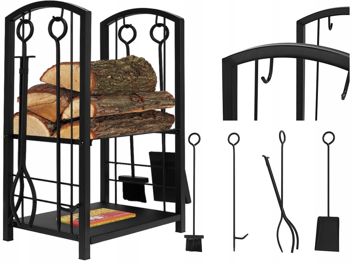 Корзина для древесного камина Стенд Посуда Аксессуары