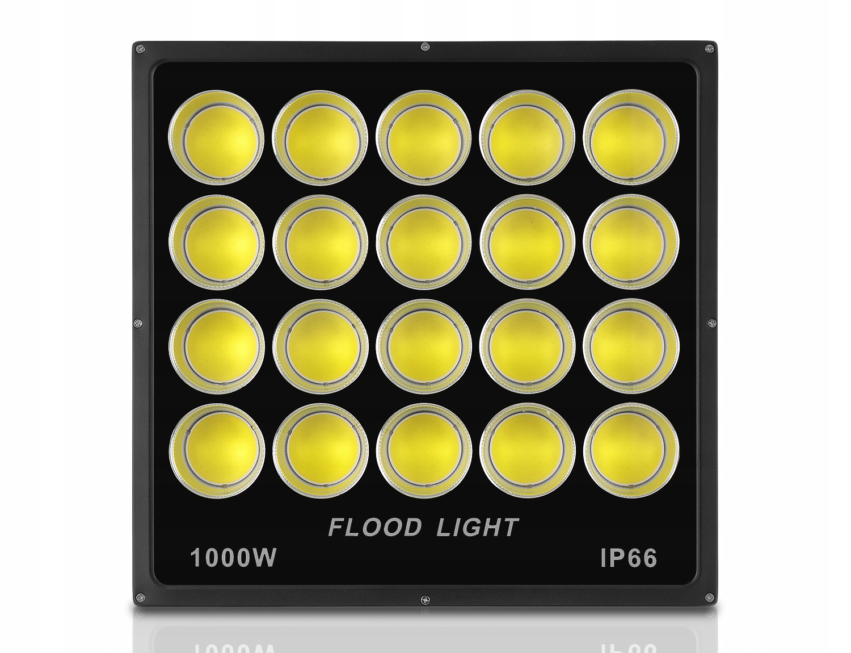 HALOGEN Lampa LED Naświetlacz 1000W CERTYFIKAT COB