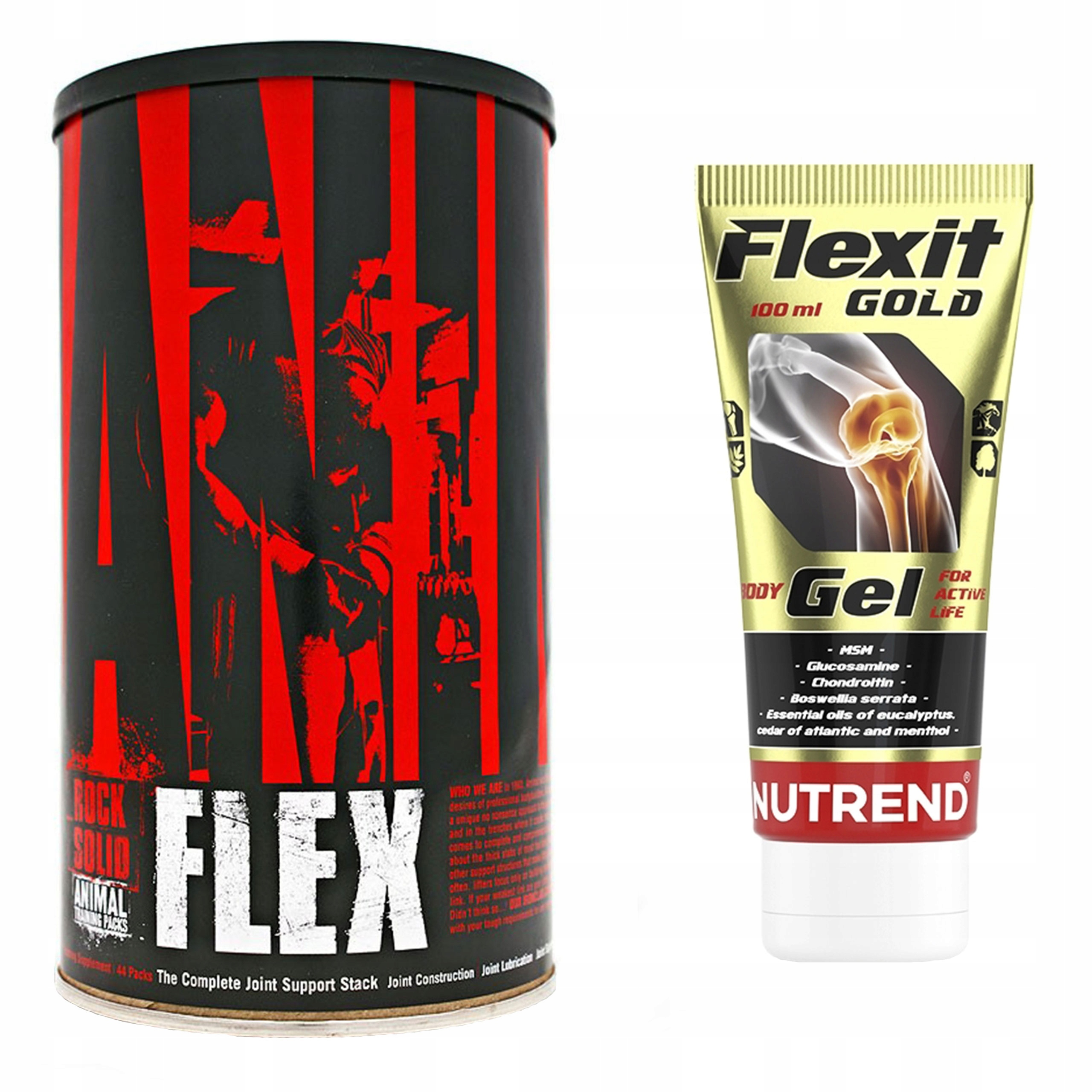 UNIVERSAL ANIMAL FLEX + ŻEL FLEXIT GOLD NA STAWY
