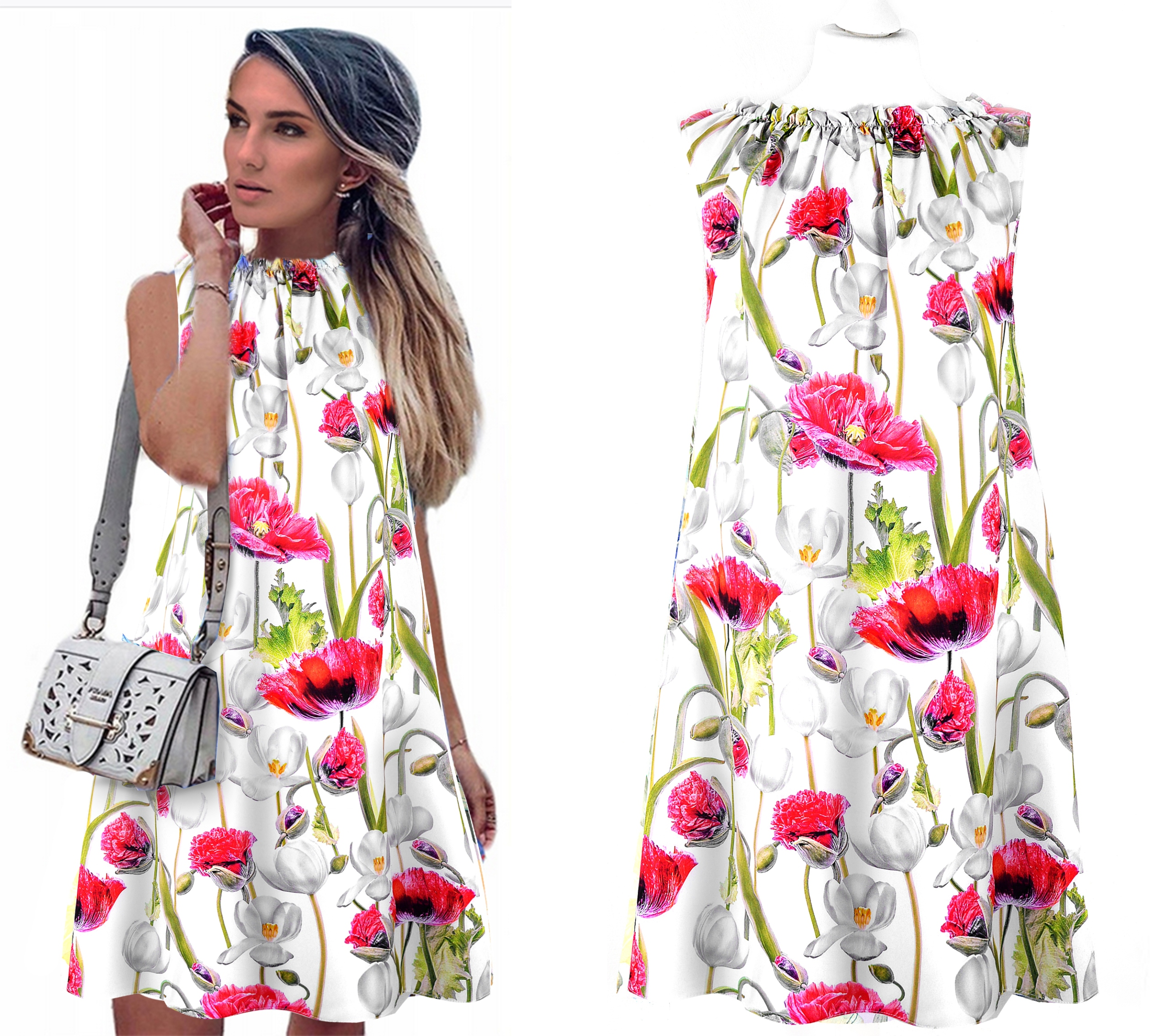 Романтические эфирные женские платья DRESS