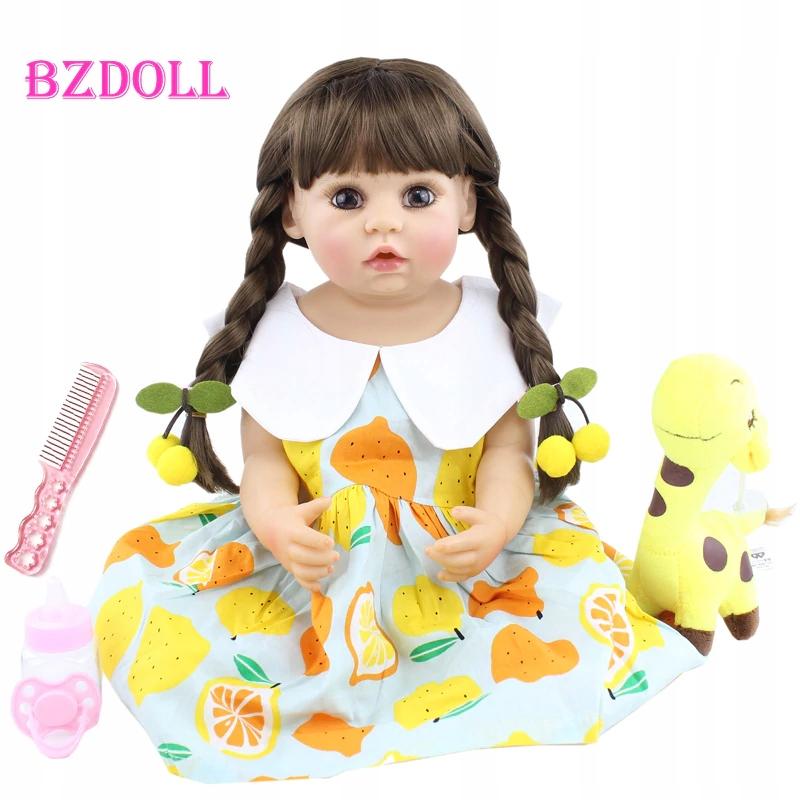 Nová krásna bábika BZDOLL 55 cm Reborn H. PL