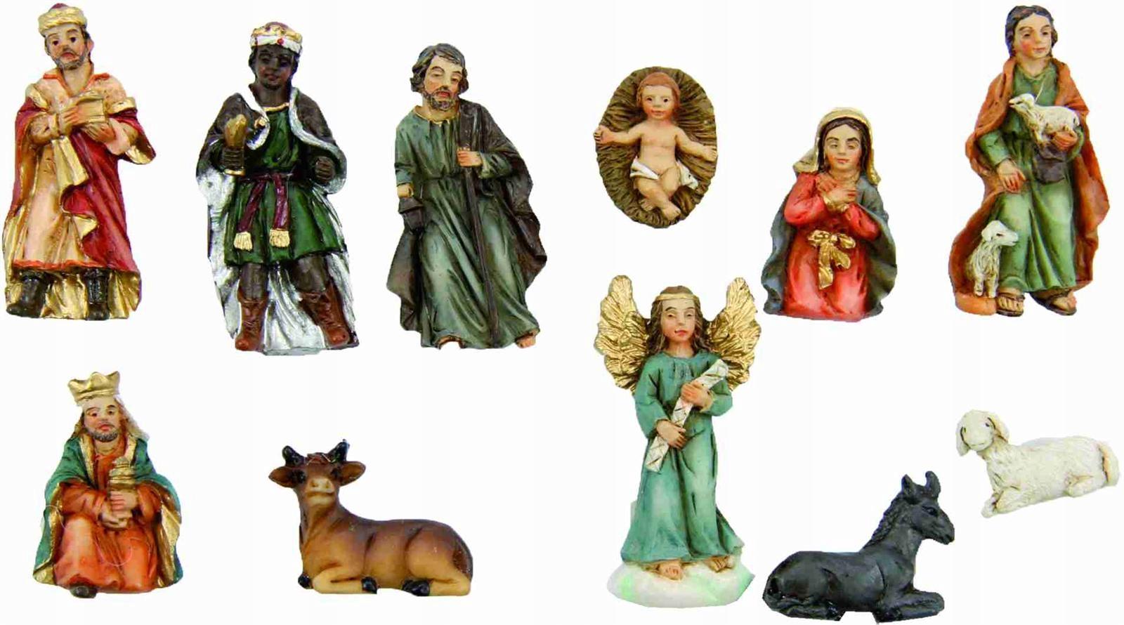 Śliczne Figurki do Szopki 11-części/ do 5,0cm wys.