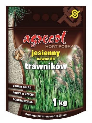 Осеннее удобрение для газонов Hortifoska Agrecol 1кг