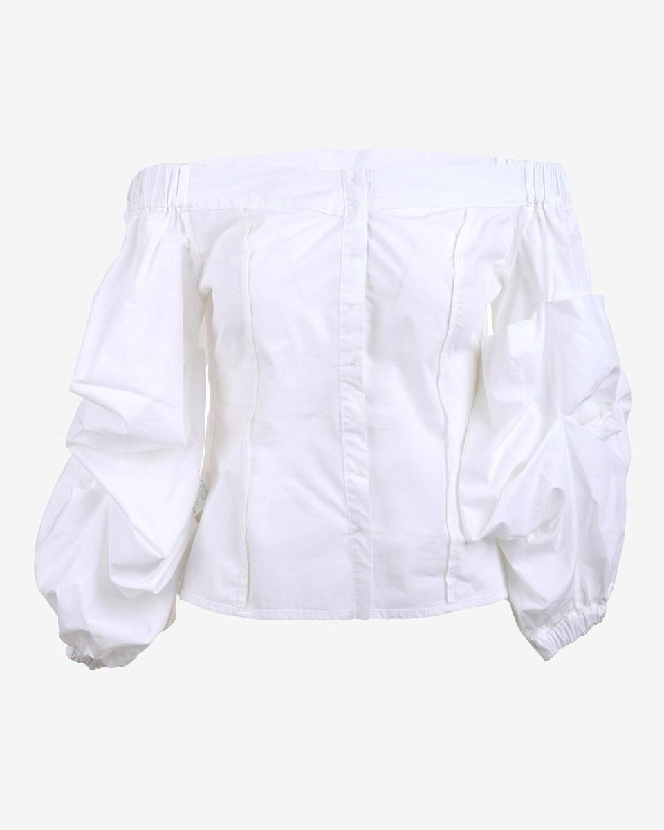 Reserved Bluzka damska koszula hiszpanka biała 40