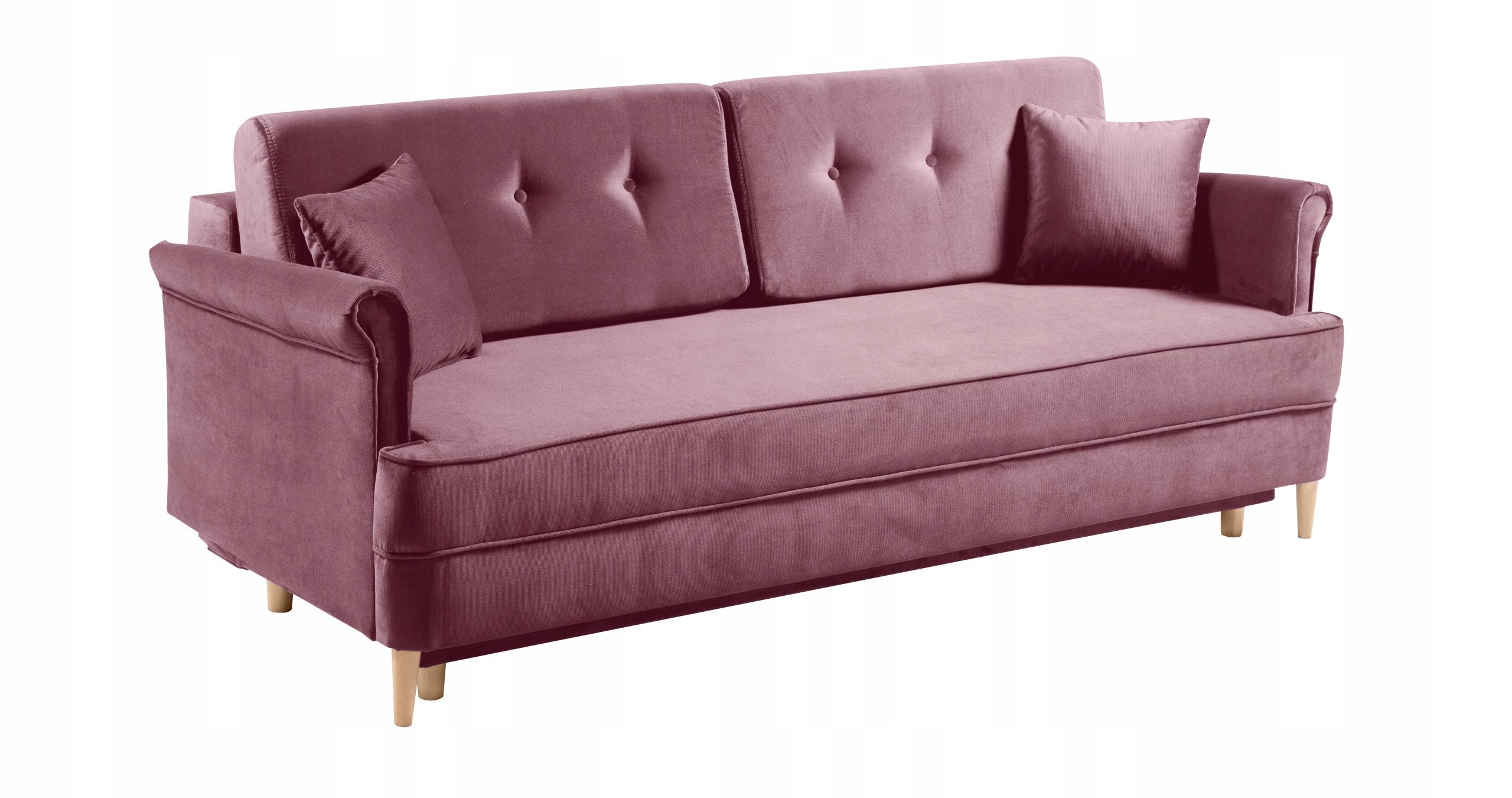 LUIS Sofa stilvolles Sofa f. Schlafbehälterfarben