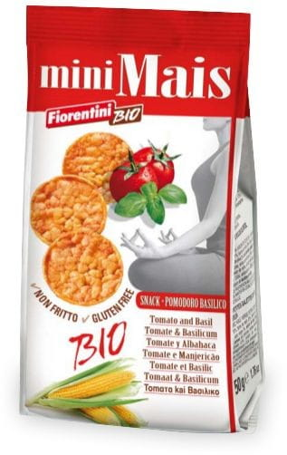Krążki Kukurydziane z Pomidorami i Bazylią Bezglut