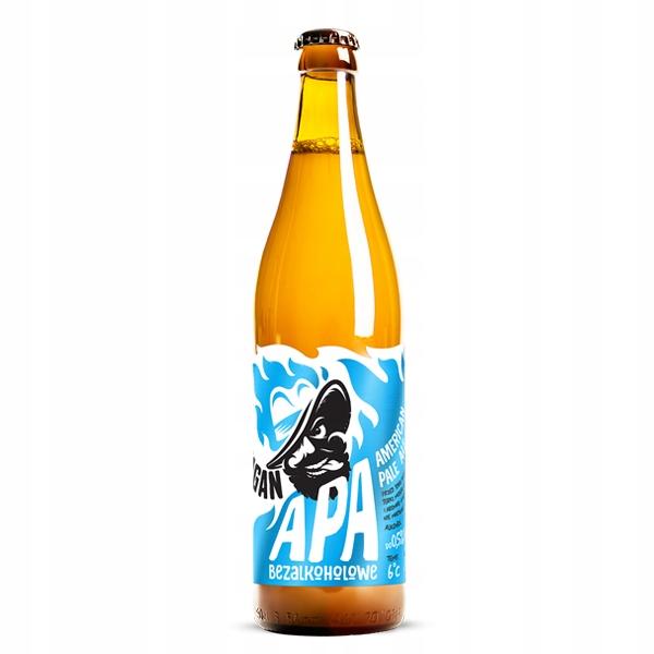 Пиво безалкогольное APA Harpagan 500мл