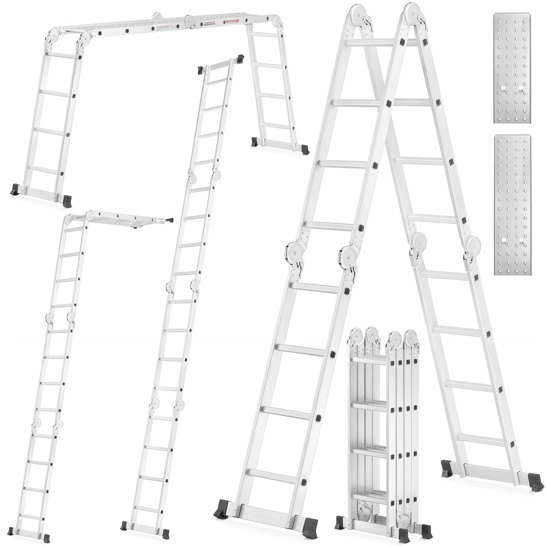 DRABINA aluminiowa 4x4 mini rusztowanie aluminiowe