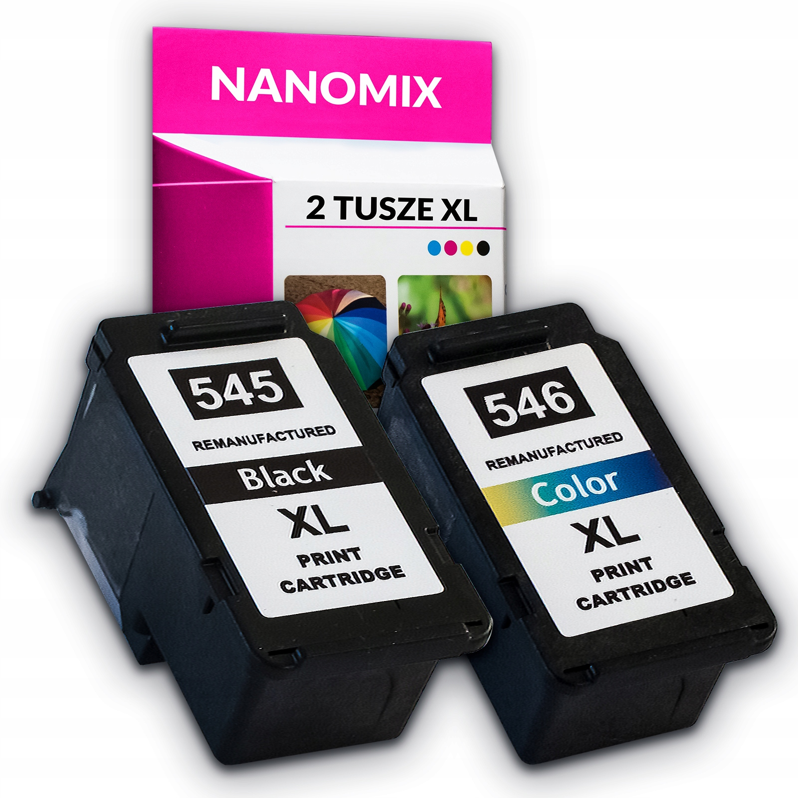 Tusze do CANON PG 545XL + 546 xl iP2850 MG2450