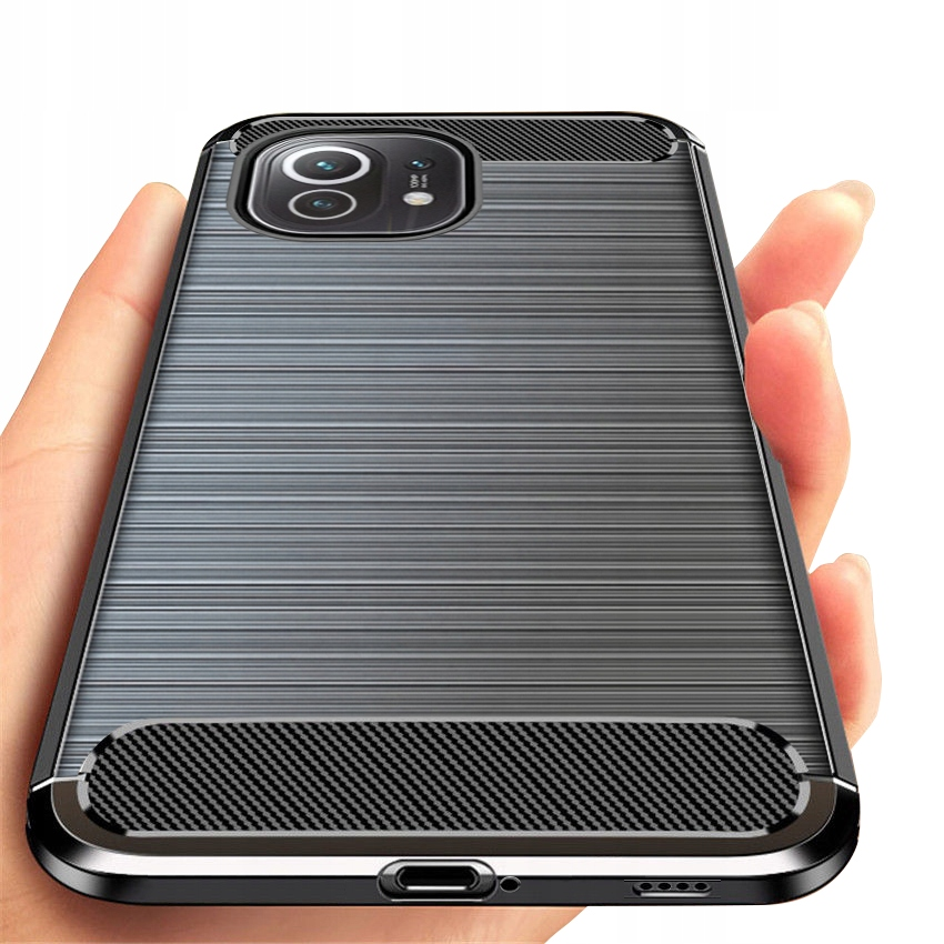Etui PANCERNE do Xiaomi Mi 11 Karbon Case + Szkło