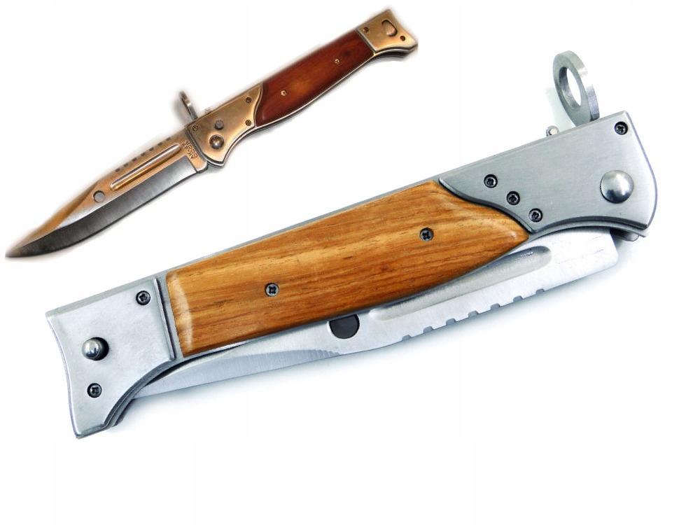 Штык-нож Ak-47 Spring Knife, самый большой 34см CCCP