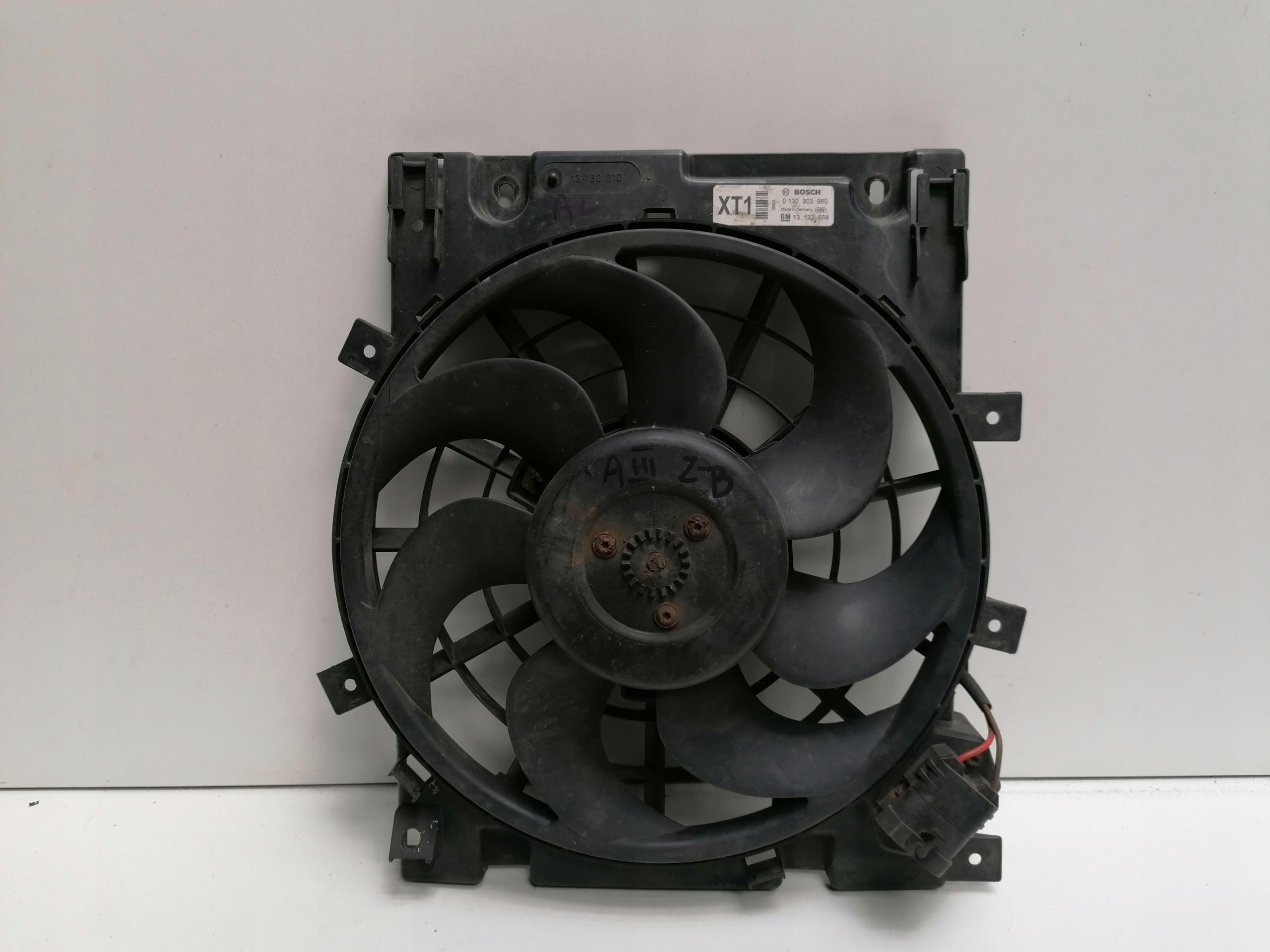 вентилятор кондиционирования воздуха opel astra h  zafira b