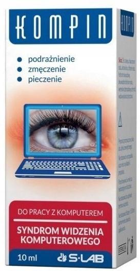 KOMPIN krople do oczu - praca przy komputerze 10ml