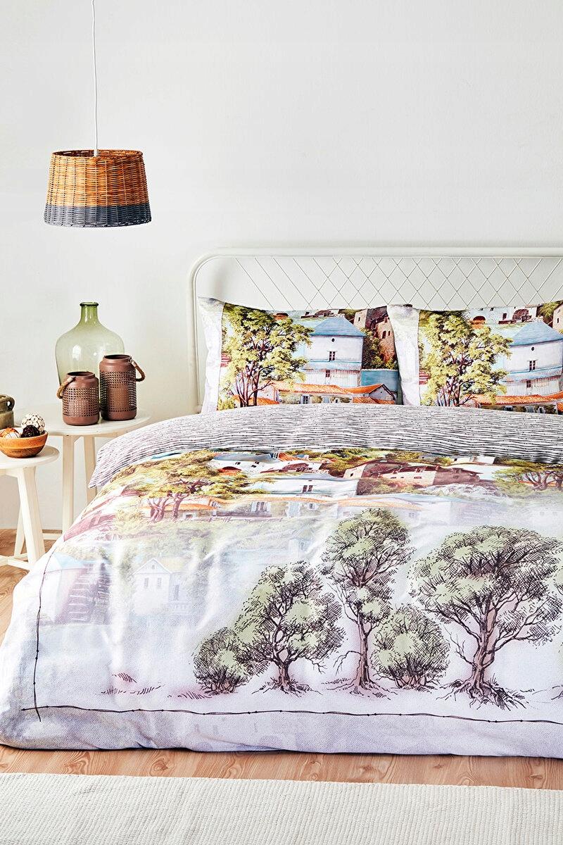 Комплект постельного белья из хлопкового сатина